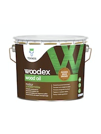 WOODEX WOOD OIL RUSKEA PUUÖLJY 2,7L