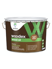 WOODEX WOOD OIL RUSKEA PUUÖLJY 9L