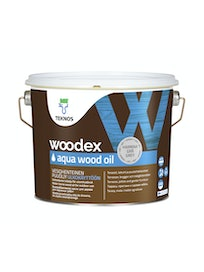 WOODEX AQUA WOOD OIL HARMAA PUUÖLJY 2,7L