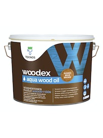 WOODEX AQUA WOOD OIL RUSKEA PUUÖLJY 9L
