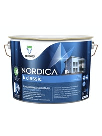 NORDICA CLASSIC TALOMAALI 9L PM1 VALKOINEN