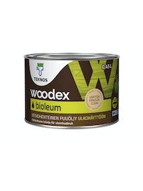 WOODEX BIOLEUM 0,45L VÄRITÖN PUUÖLJY