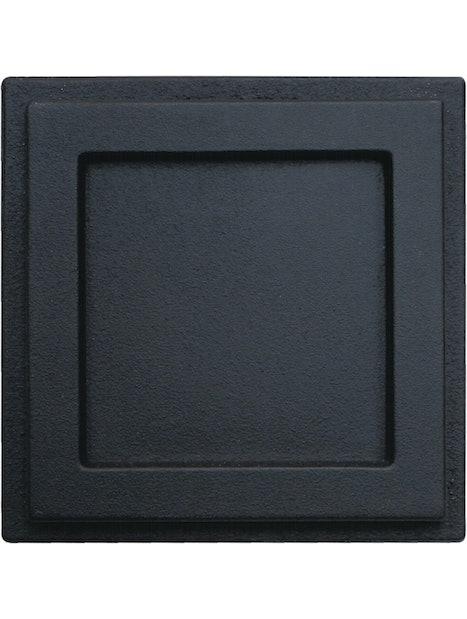 NOKILUUKKU PISLA HTT605 MUSTA 130X130