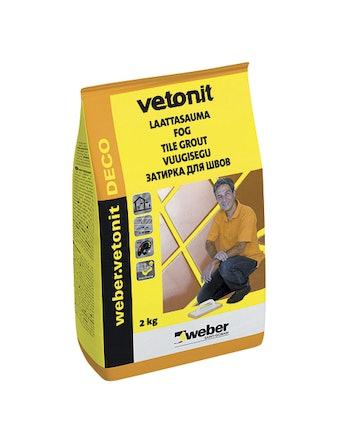 Затирка для швов Ветонит Ultra 25 лимон 2 кг