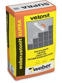 KEVYTLAASTI WEBER VETONIT SUPRA 15KG