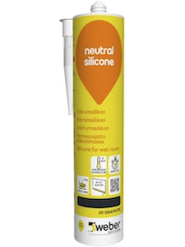 SILIKONI WEBER NEUTRAL 20 GRAPHITE 310ML