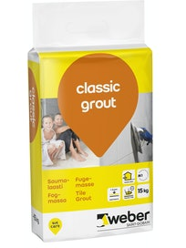 SAUMALAASTI WEBER CLASSIC GROUT 19 ANTHRACITE 15KG