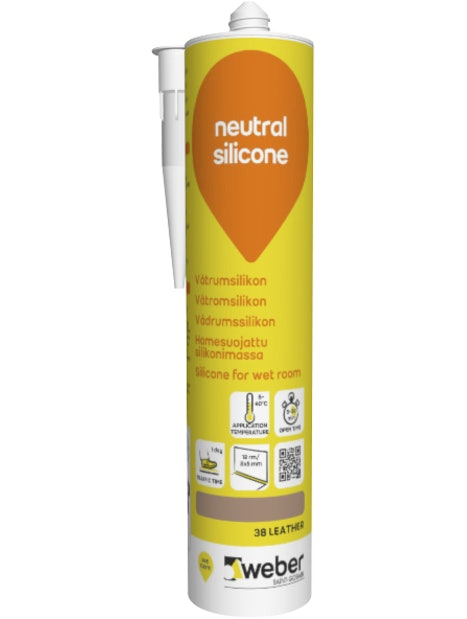 SILIKONI WEBER NEUTRAL 38 LEATHER 310ML