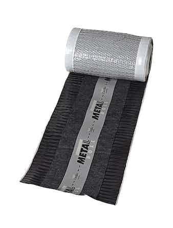 Nockband Monier Metalroll 260-320 5m Svart