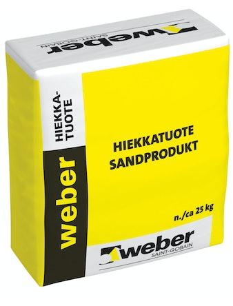 Bläster/Fogsand Weber Saint-Gobain 25Kg