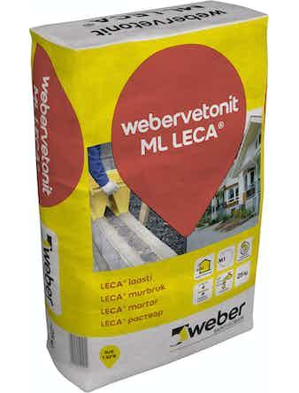 Murbruk Weber Saint-Gobain Vetonit ML Leca 25Kg