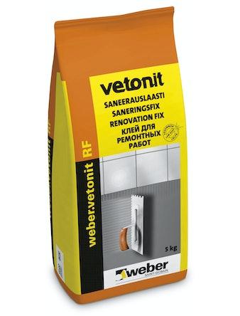 Клей плиточный Weber.Vetonit RF 5 кг