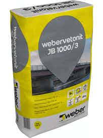 JUOTOSLAASTI WEBER VETONIT JB 1000/3 25KG