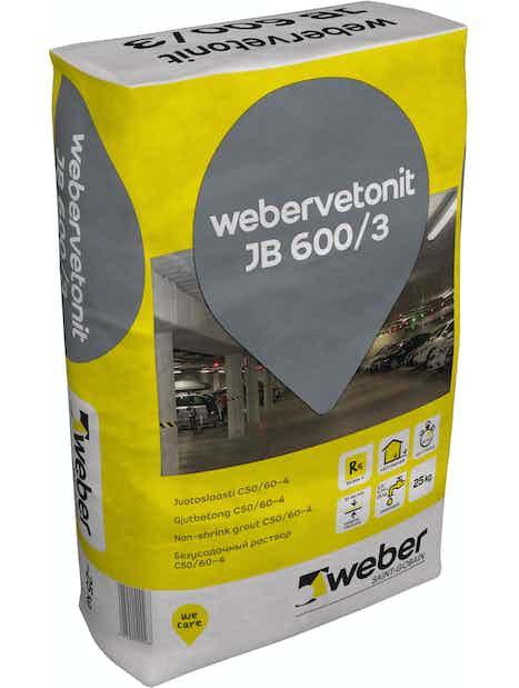 JUOTOSLAASTI WEBER VETONIT JB 600/3 25KG