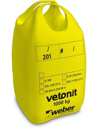 Torrbetong Weber S 100 Vetonit 1000kg