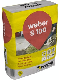 KUIVABETONI WEBER VETONIT S 100 25KG