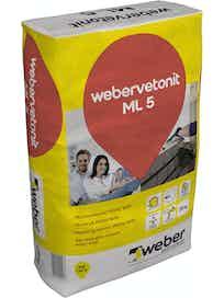 MUURAUSLAASTI WEBER VETONIT M100/600 ML 5 25KG