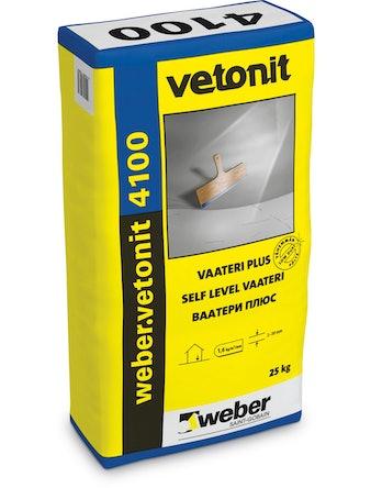 Ровнитель для пола Weber.Vetonit 4100 25 кг