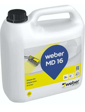 Golvdispersion Weber Saint-Gobain Vetonit MD16 3L