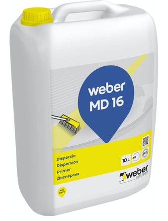 Грунтовка weber.vetonit МD 16 дисперсия 10 л