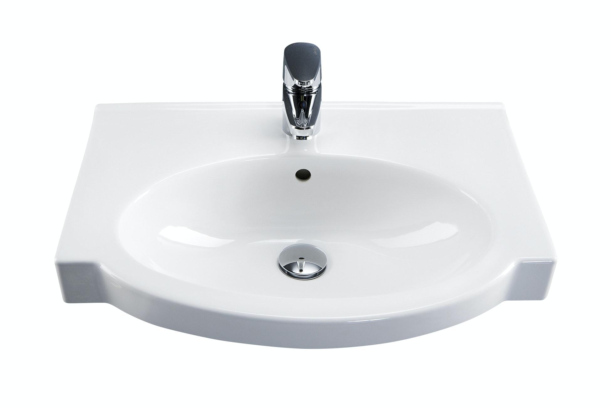 Tvättställ Ido Plus 11131 Vit