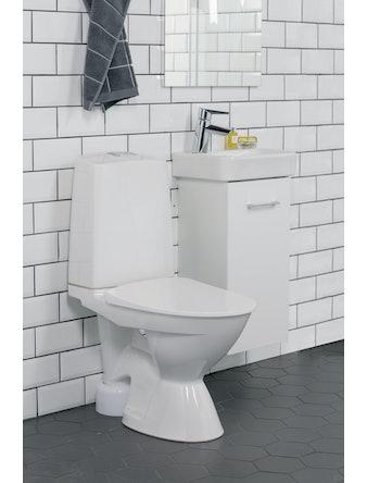 Toalettstol Ido Glow 63 Öppet S-Lås Rimfree 4/2L