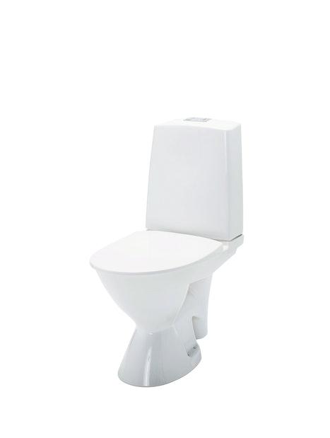 WC-ISTUIN IDO GLOW 63 PERUSKORJAUS 2-T PEHMEÄ KANSI 3736301101