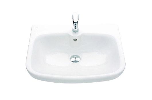 Tvättställ Ido Glow 600 Kvadrat