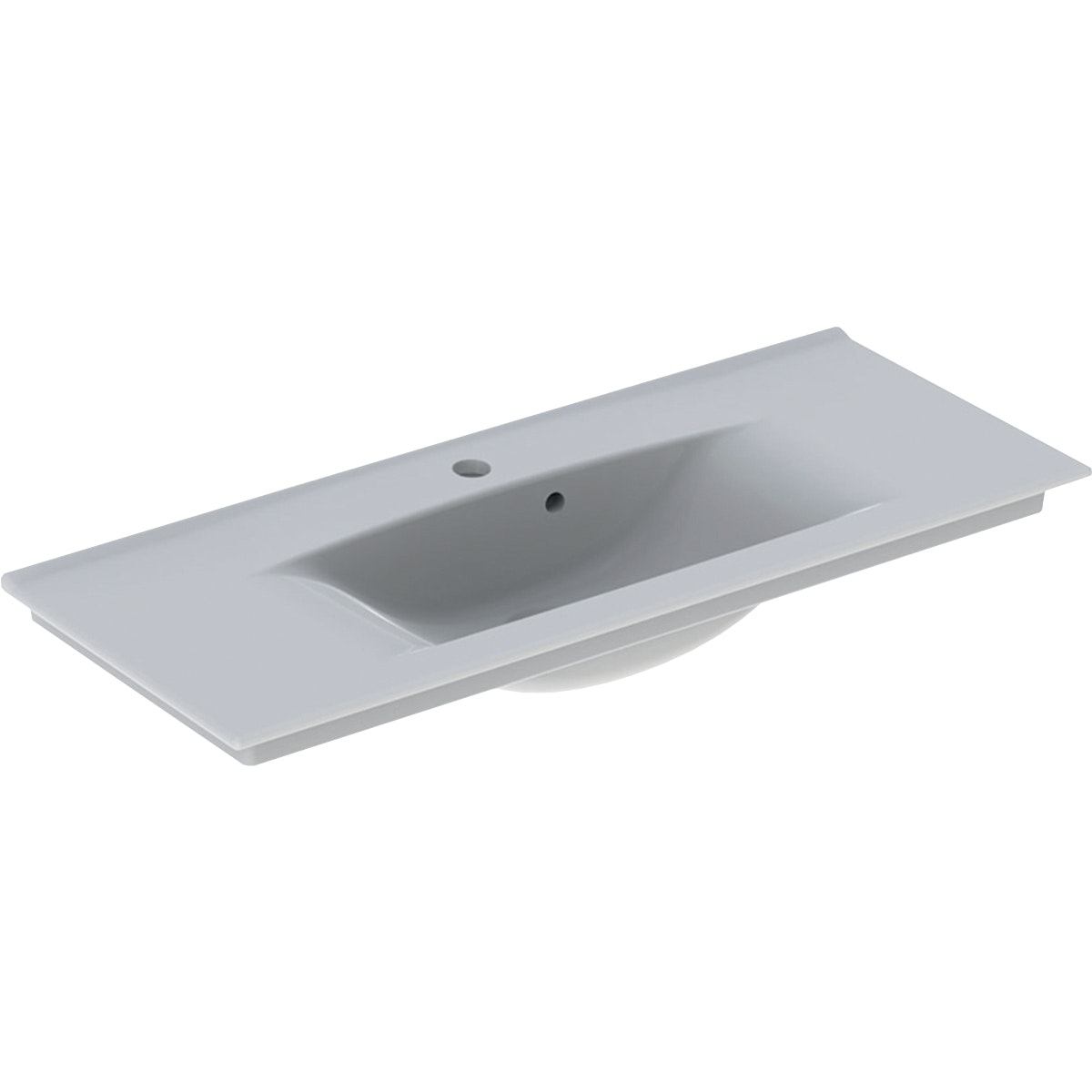 Möbeltvättställ Ido Elegant Compact 90cm Vit