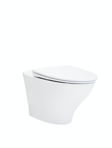 WC-ISTUIN IDO GLOW 66 SEINÄ ILMAN KANTTA 7816601101