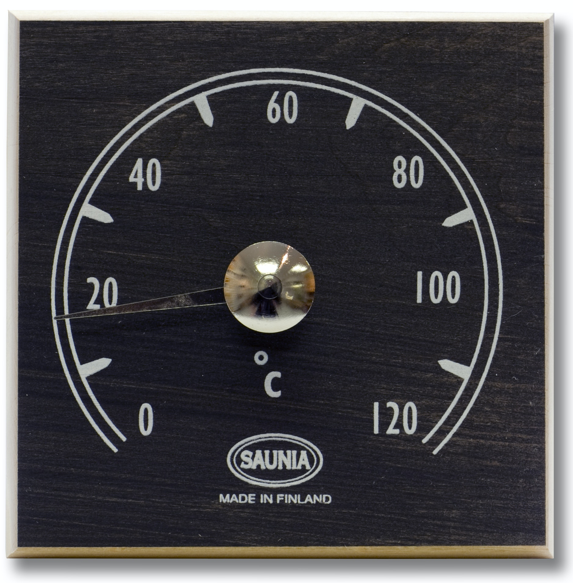 Bastutermometer Saunia Klibbal Svart