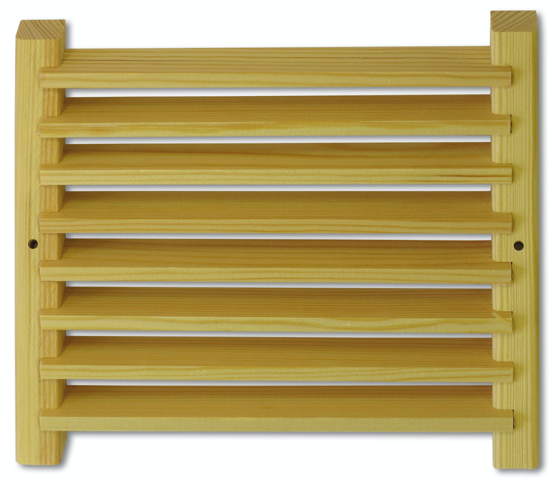 Ventilationsgaller Saunia för bastu furu