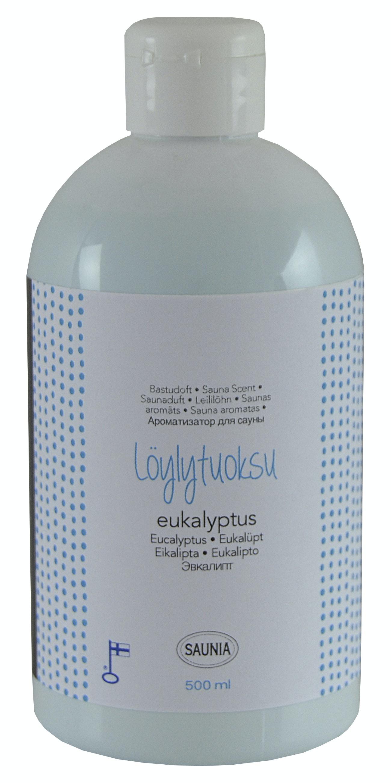 Bastudoft Saunia Eucalyptus 500ml