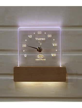 Bastutermometer Nikkarien Led