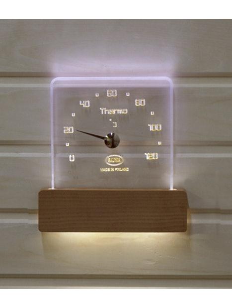 LÄMPÖMITTARIVALAISIN SAUNIA LED 12V/230V