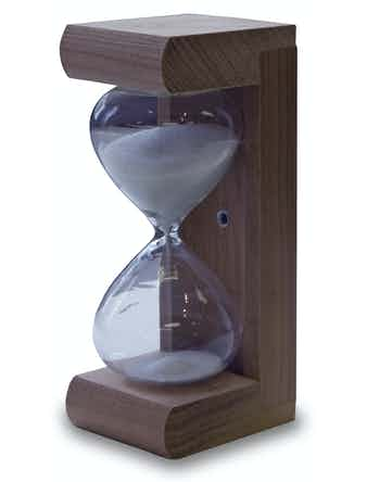 Timglas bastu Nikkarien 15 minuter