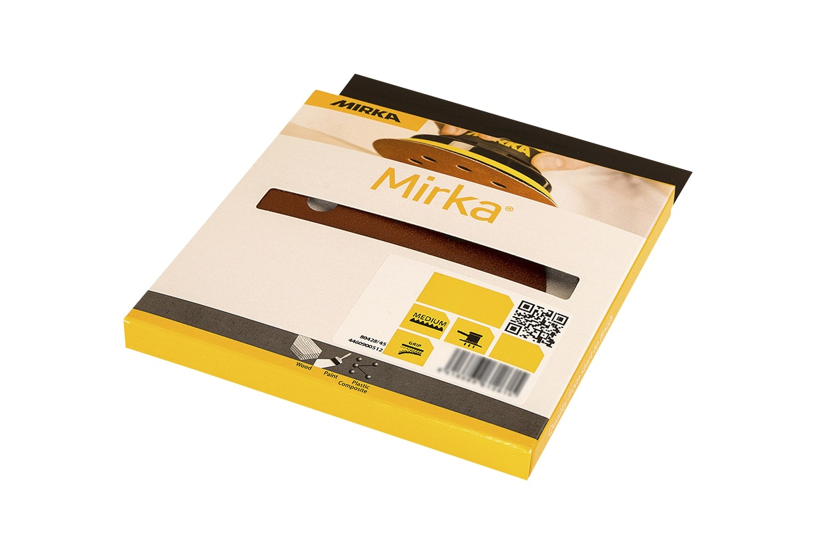 Slippapper Mirka Pex 125mm Grip 240