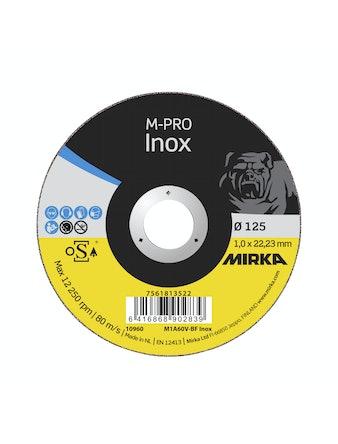 Kapskiva Mirka M-Profi Inox 125X1,0X22,2mm