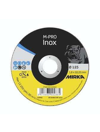 Kapskiva Mirka M-Profi Inox 125X1,6X22,2mm
