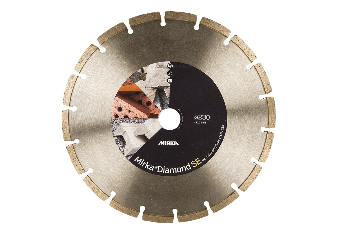 Diamantkapskiva Mirka TWF 230X22,2mm