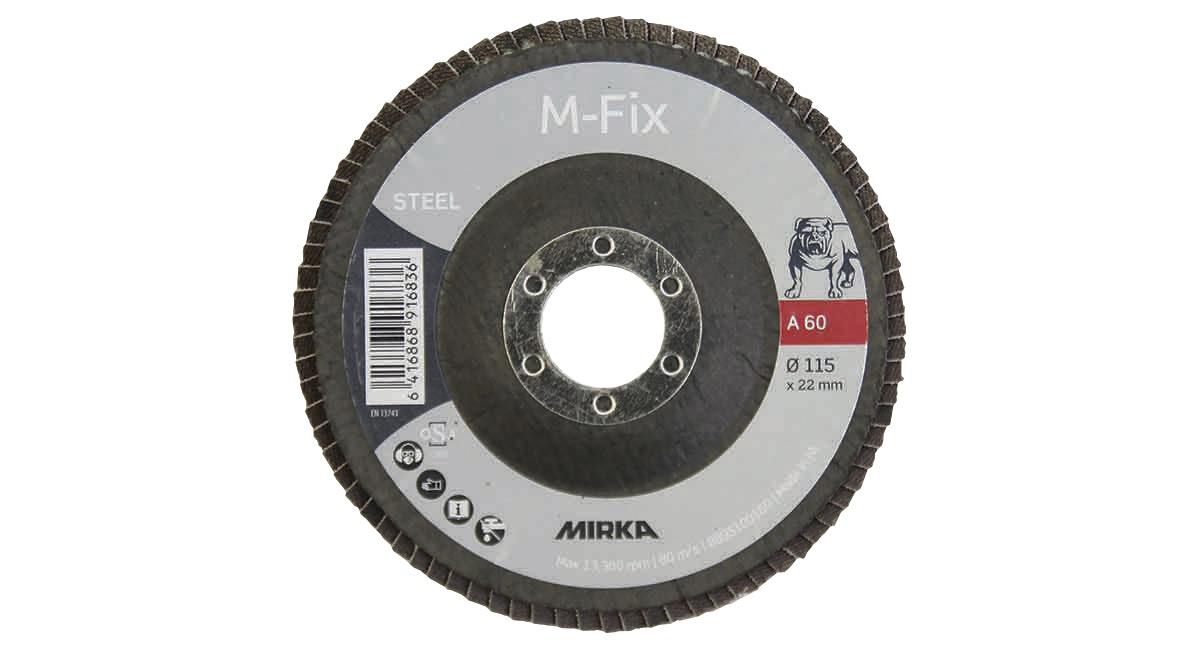 Lamellskiva Mirka M-Fix 115X22mm Alox 60
