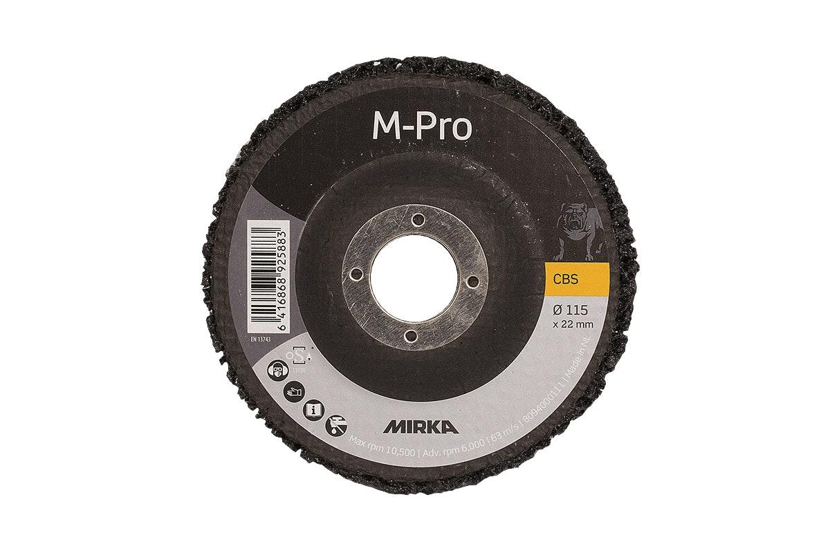 Grovrengöringsrondell Mirka Cbs Fv115X22mm