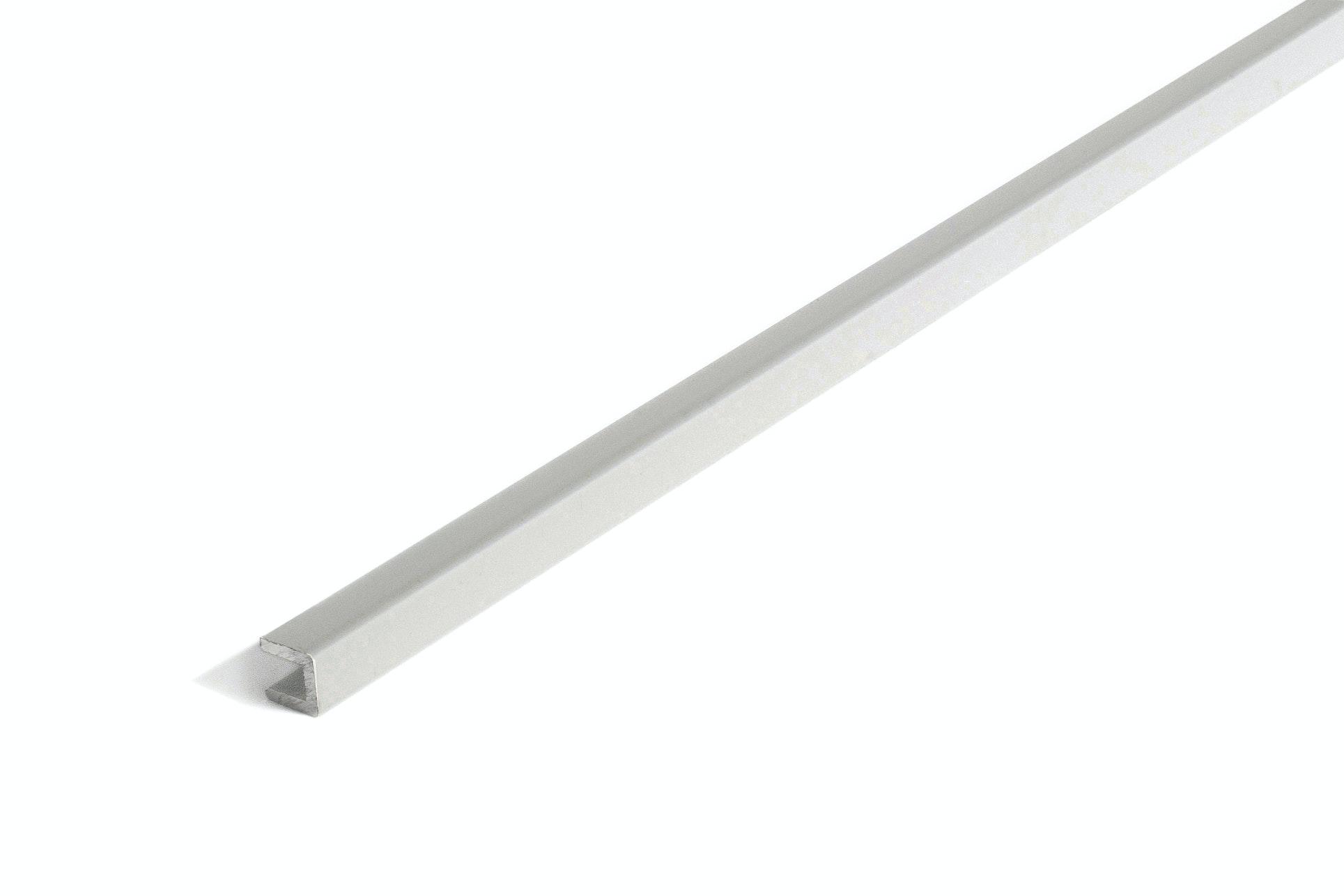 U-List 10X10X2Mm Silver. 100Cm