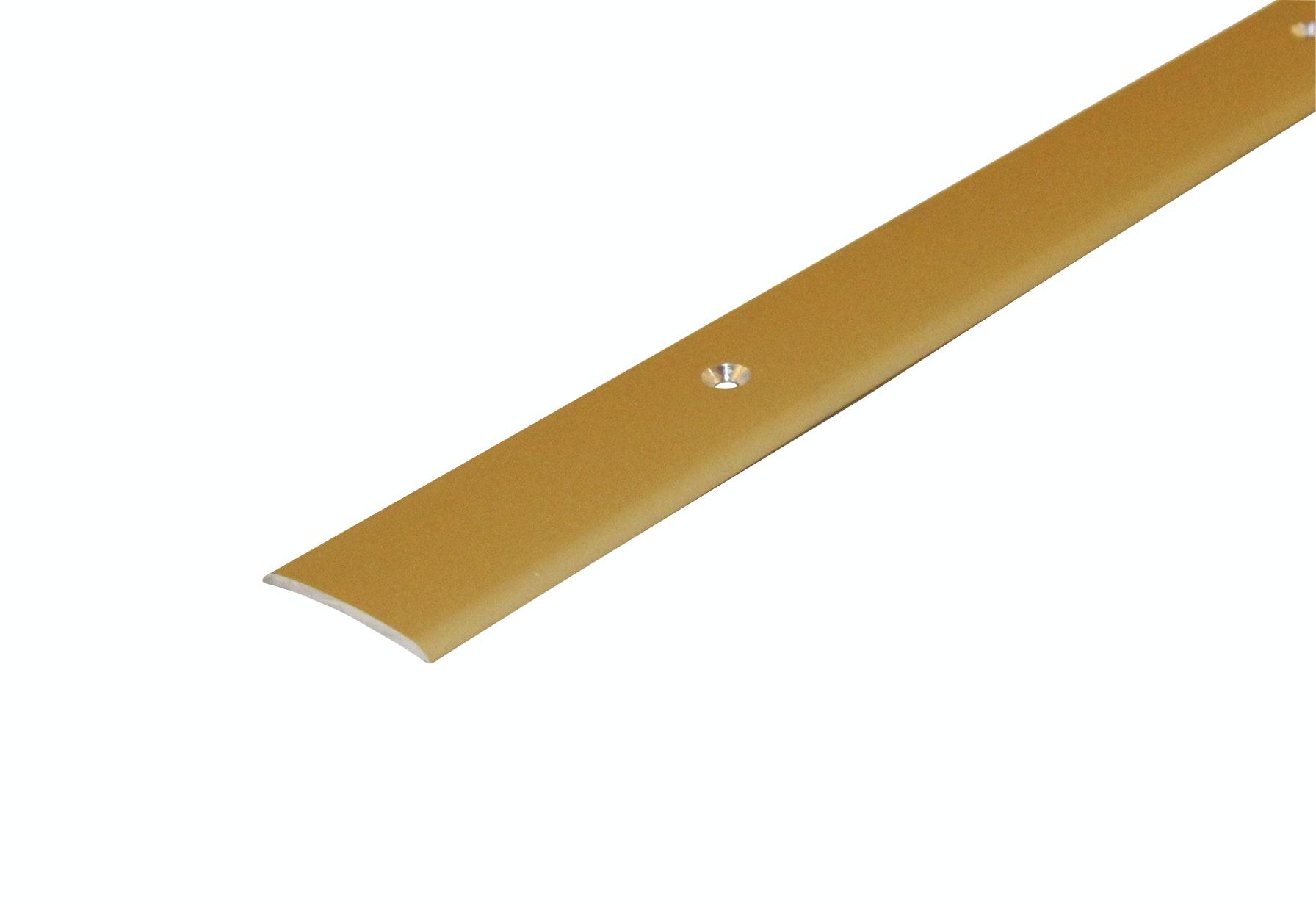 Skarvlist Dione 29mm Slät Skruv. Guld 90cm