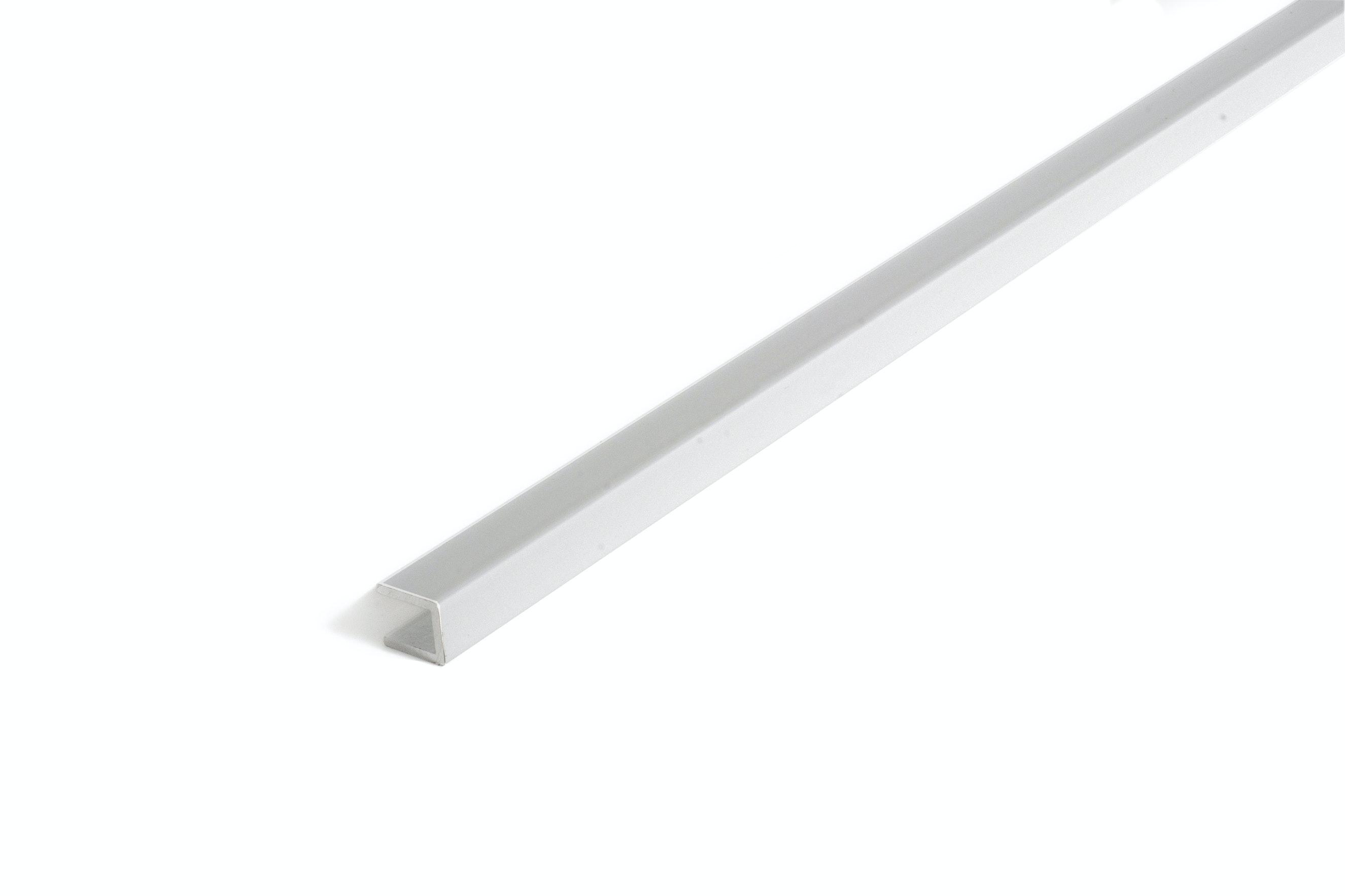 U-List 14X16X2Mm Silver. 100Cm