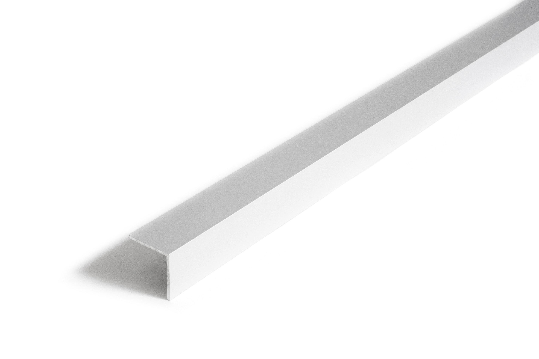 L-List Dione 25X25X1,5mm Silver 100cm