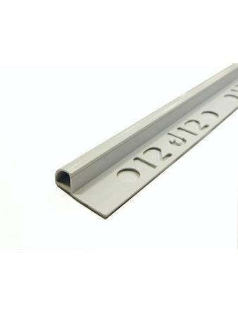 Kakellist Dione Pvc 12mm Vit 250cm