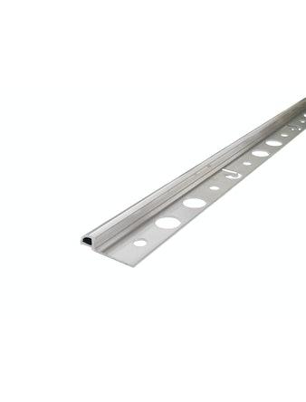 Kakellist Dione Metall 6mm Silver 250cm