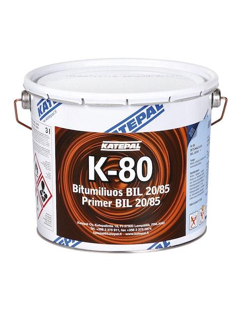 BITUMILIUOS KATEPAL K-80 BIL 20/85 3L