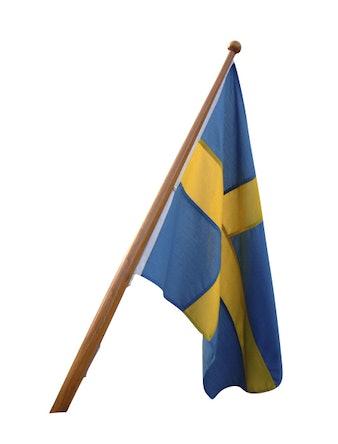 Båtflagga Flagmore Sverige 70cm